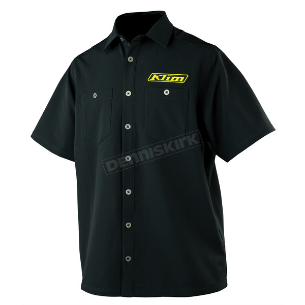 Klim Black Pro Team Tech Shirt - 4129-001-130-000