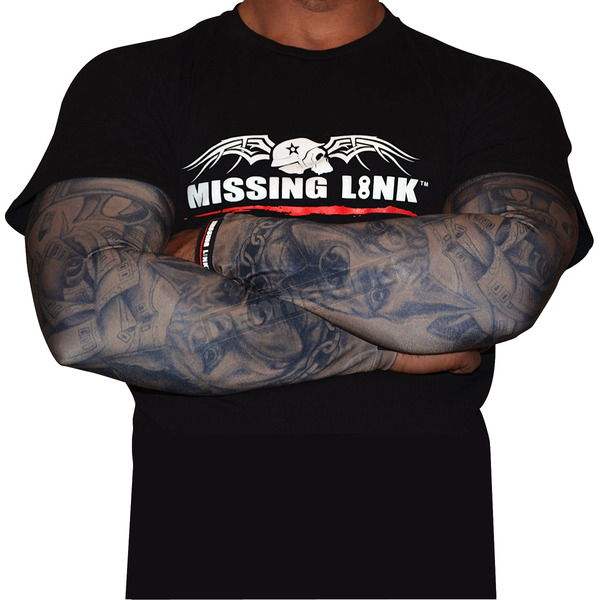 Missing Link Gunz N Money Dark Skin Tattoo Sleeves - APGMS