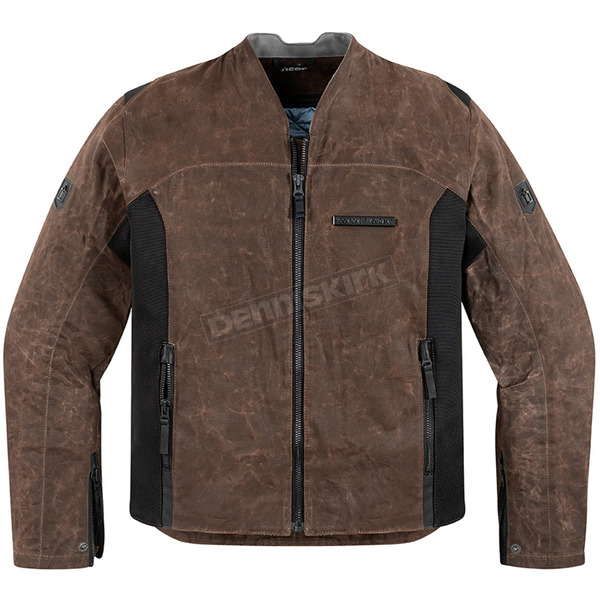 Icon 1000 Brown 100 Oildale Jacket - 2820-2920