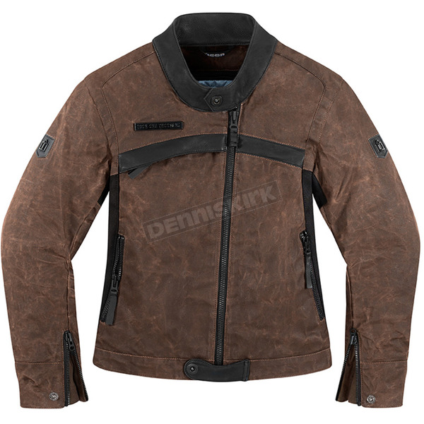 Icon 1000 Womens Brown Hella 1000 Jacket - 2822-0670