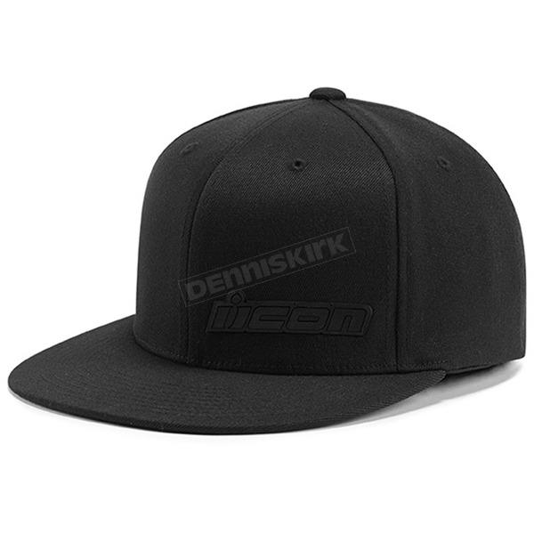 Icon Black Fused Hat - 2501-1875