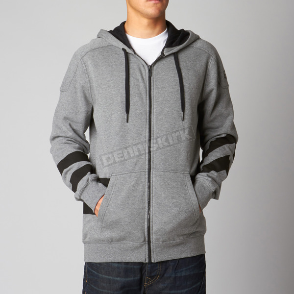 Fox Heather Graphite Rebate Zip Hoody - 08650-185-S