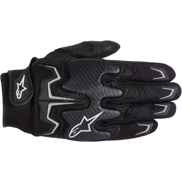Alpinestars Black Fighter Air Gloves  - 3567514-10-3X