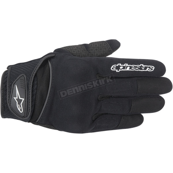 Alpinestars Black Spartan Gloves  - 3574714-10-XL