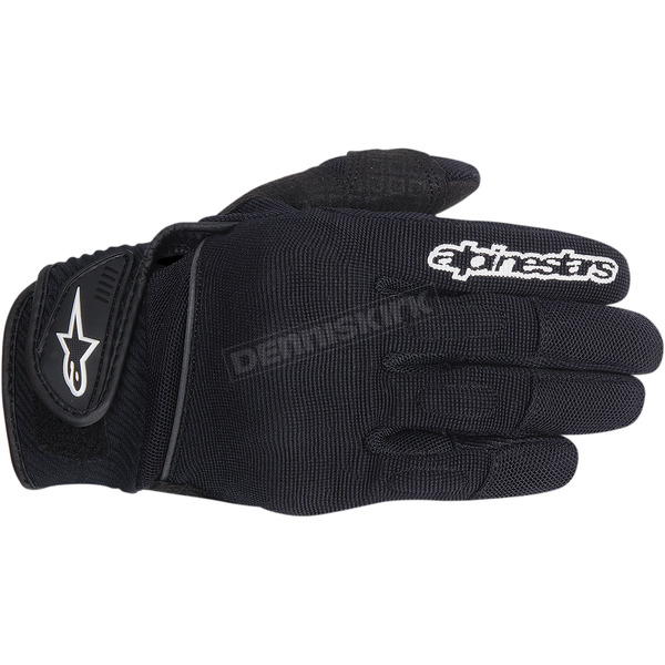 Alpinestars Womens Black Stella Spartan Gloves  - 3594714-10-XL