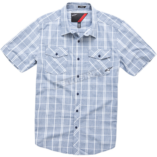 Alpinestars Blue Vex Shortsleeve Shirt  - 10143200472M