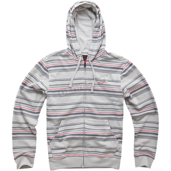 Alpinestars Gray Preview Zip Hoody - 10145300311EXL