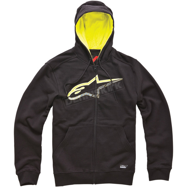Alpinestars Black Chapman Zip Hoody - 10145300210AM