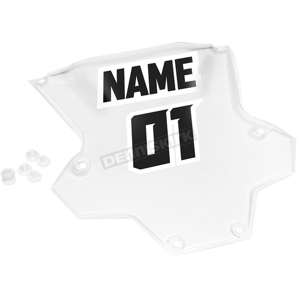 Thor Clear Sentinel XP Number Plate - 2701-0680