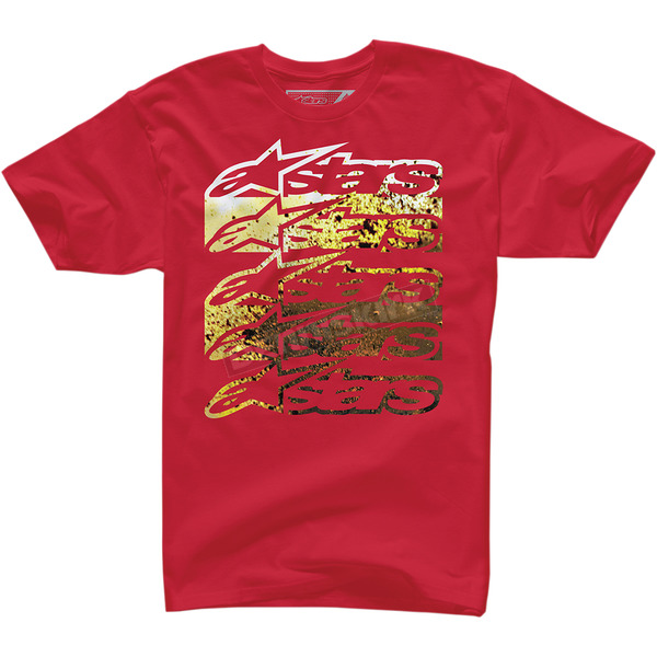 Alpinestars Red Dirt Spray T-Shirt  - 100372709030L