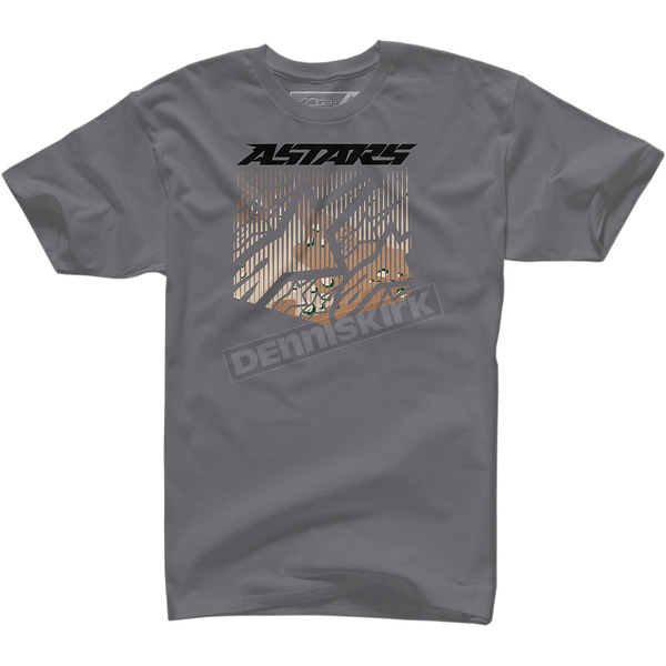 Alpinestars Charcoal Shield T-Shirt  - 10037271218M