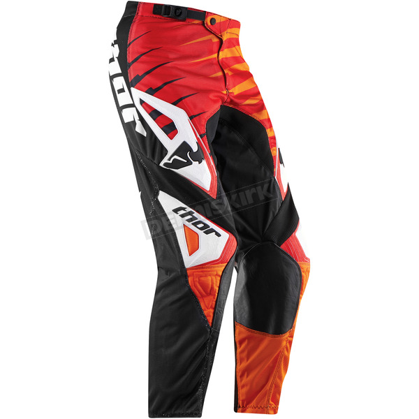 Thor Red Phase Vented Rift Pants - 2901-4794