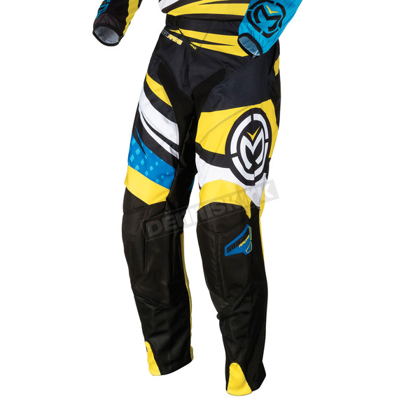 Moose Black/Blue/Yellow M1 Pants - 2901-4971