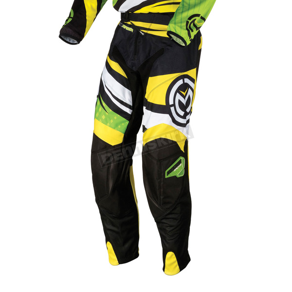 Moose Youth Green/Yellow M1 Pants - 2903-1285