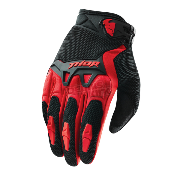 Thor Red Spectrum Gloves - 3330-3111
