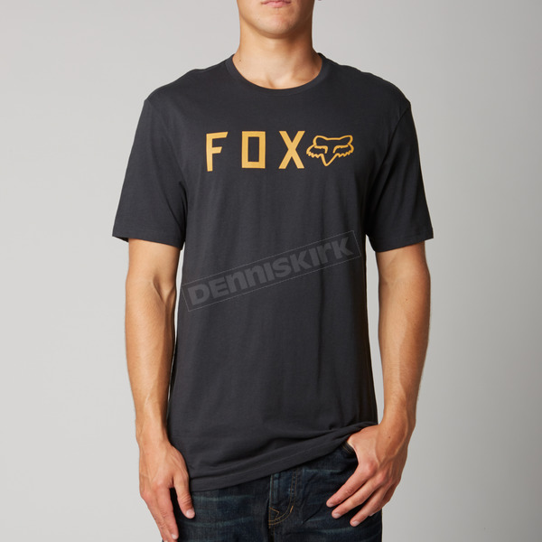 Fox Black Vintage Shockbolt Premium T-Shirt - 10813-587-S