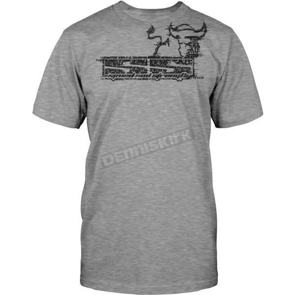 Speed and Strength Heather Grey Twist Of Fate 2.0 T-Shirt  - 87-5384