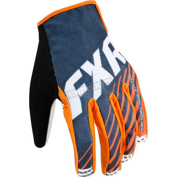 FXR Racing Black Cold Cross Race Slip-On Gloves - 15613.10010