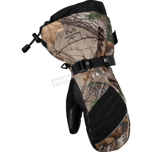 FXR Racing Womens Realtree Xtra Camo Fusion Mitts - 15615.33316