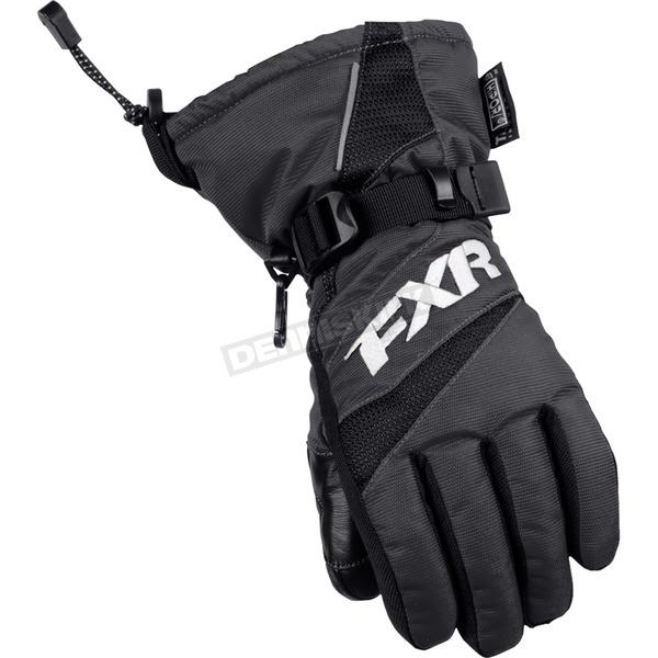 Youth Black Helix Race Gloves - 15620.10007