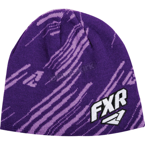 FXR Racing Purple Equalizer Beanie - 15703.80100
