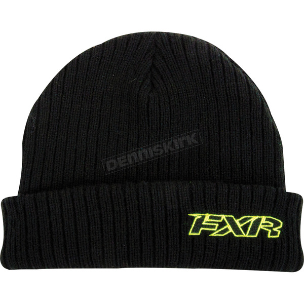 FXR Racing Black Detour Beanie - 15703.10000