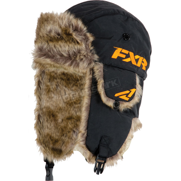 FXR Racing Black Aviator Hat - 15715.10008