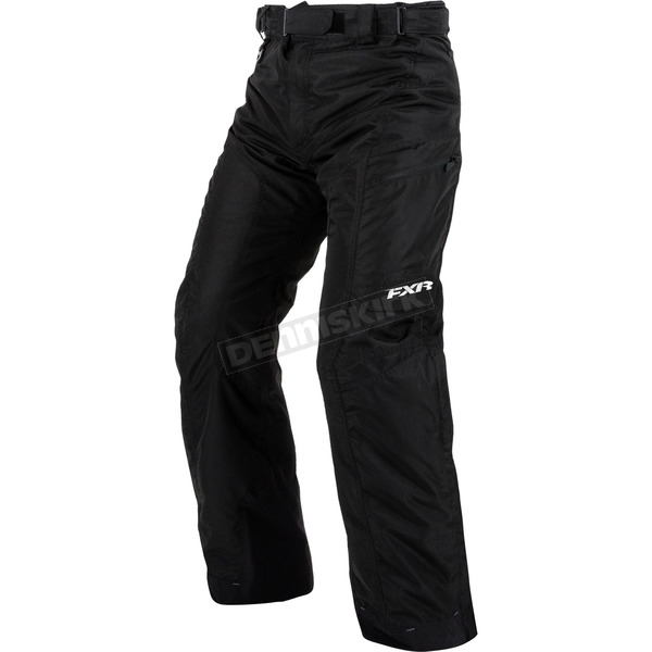 FXR Racing Black Squadron Pants - 15175.10007