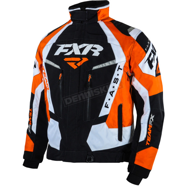 FXR Racing Black/Orange Team FX Jacket - 15100.30107