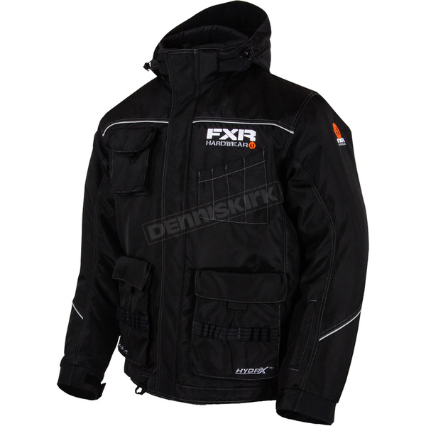 FXR Racing Black Hardwear Jacket - 15118.10016
