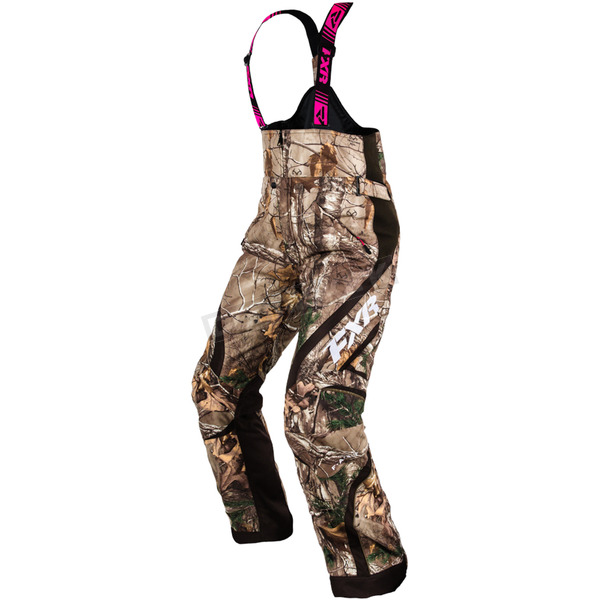 FXR Racing Womens Realtree Camo Team Pants - 15252.33304