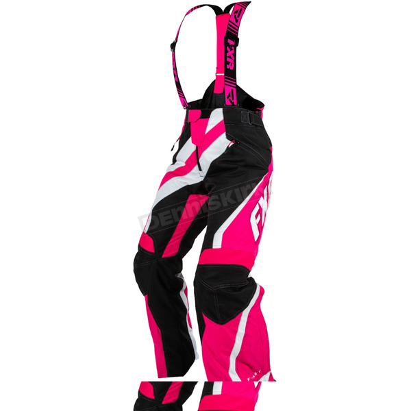 FXR Racing Womens Black/Fuchsia XSystem Pants - 15253.90104