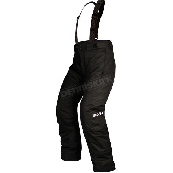 FXR Racing Childs Black Squadron Pants - 15313.10004