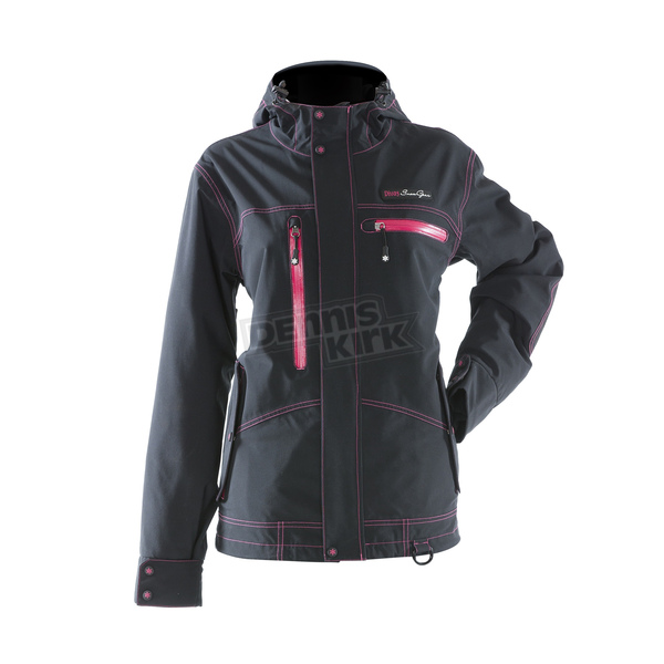 Divas Snowgear Womens Black Avid Technical Jacket - 67505