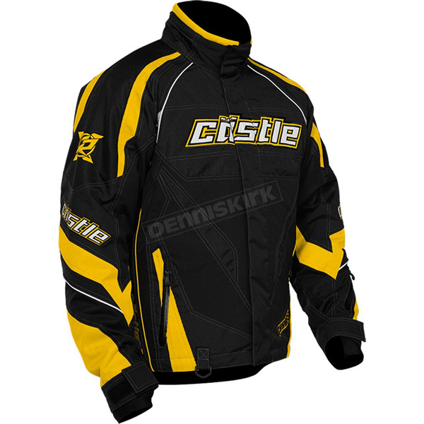Castle X Yellow Charge G2B Jacket - 70-9332