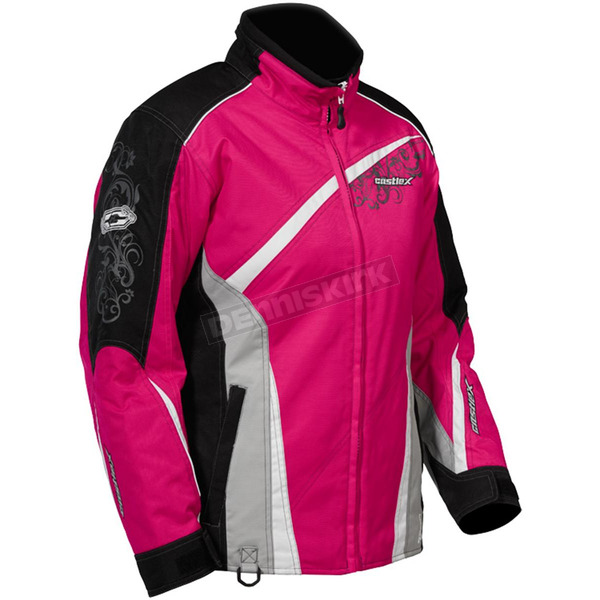 Castle X Womens Magenta Charm G2 Jacket - 72-1989