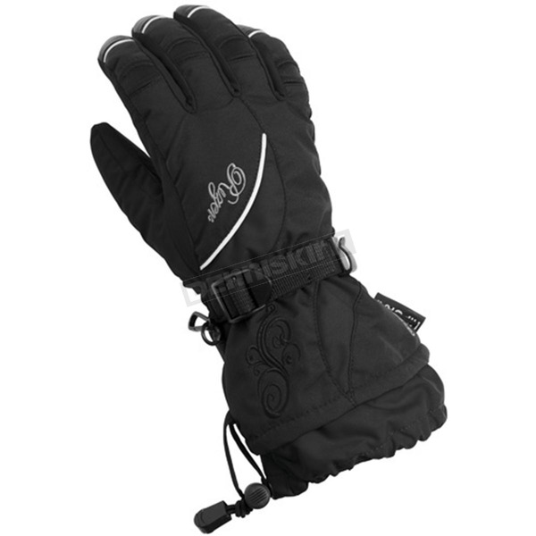 Castle X Womens Black Rizer G6 Gloves - 74-3278