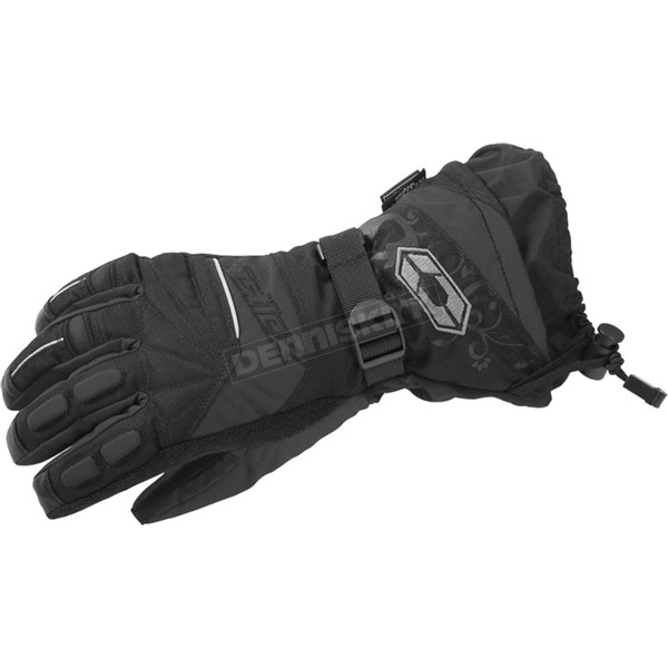 Castle X Womens Black Rizer G7 Gloves - 74-4272