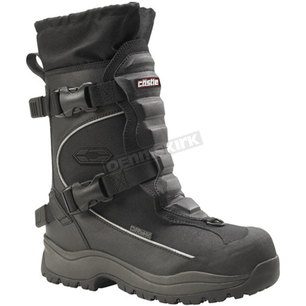 Castle X Black Barrier Boots - 84-1207