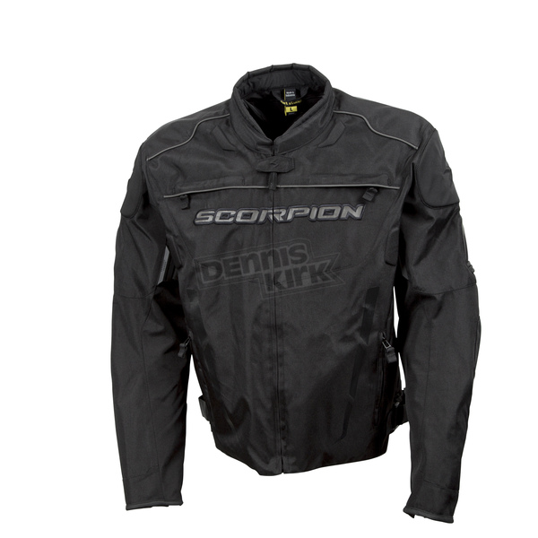 Scorpion Black Battalion Jacket  - 12303-6