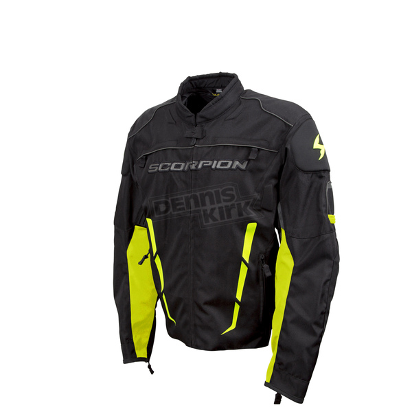 Scorpion Black/Neon Battalion Jacket  - 12353-8