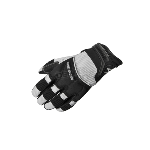 Scorpion Black/Silver Coolhand II Gloves  - G19-043