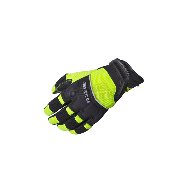 Scorpion Black/Neon Green Coolhand II Gloves  - G19-508