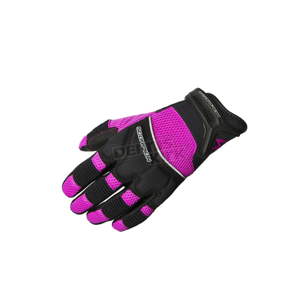 Scorpion Womens Black/Pink Coolhand II Gloves  - G54-326