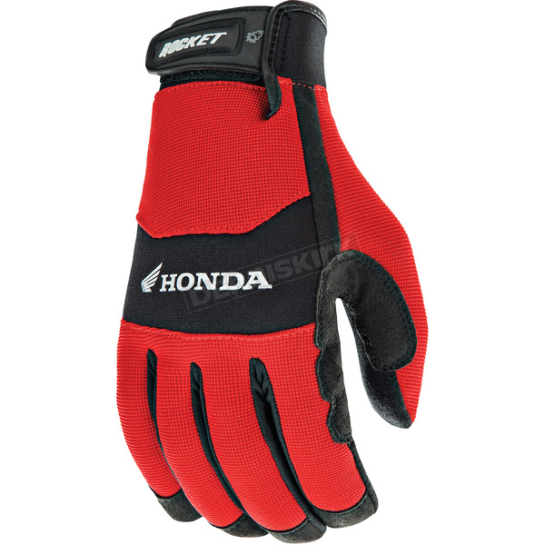 Joe Rocket Red/Black Honda Crew Touch Gloves - 1304-1105
