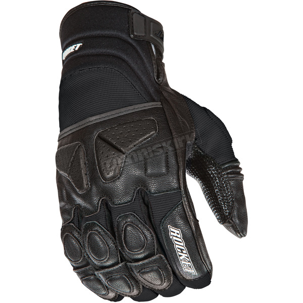 Joe Rocket Black Atomic X Gloves - 1346-2006
