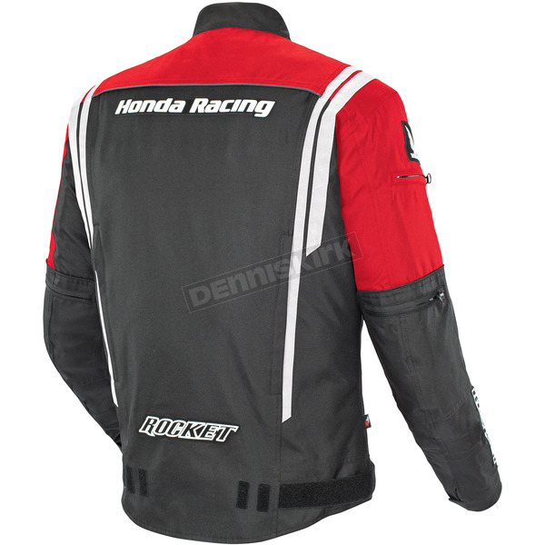 Joe Rocket Black/Red Honda Racing CBR Jacket - 1370-2102