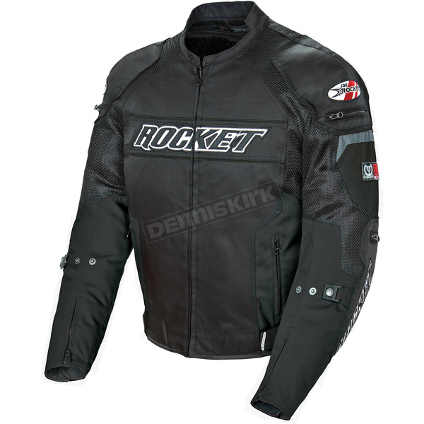 Joe Rocket Black Resistor Mesh Jacket - 1460-1006