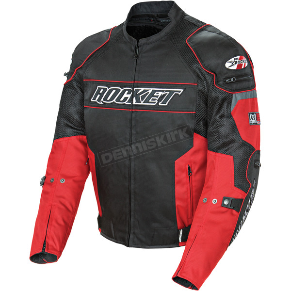 Joe Rocket Black/Red Resistor Mesh Jacket - 1460-1102