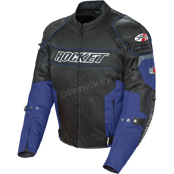 Joe Rocket Black/Blue Resistor Mesh Jacket - 1460-1205